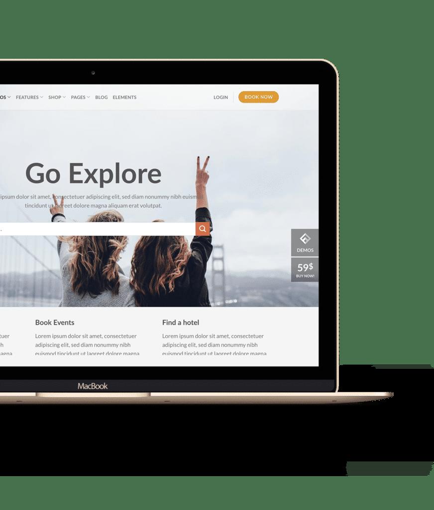 Hjemmeside demo